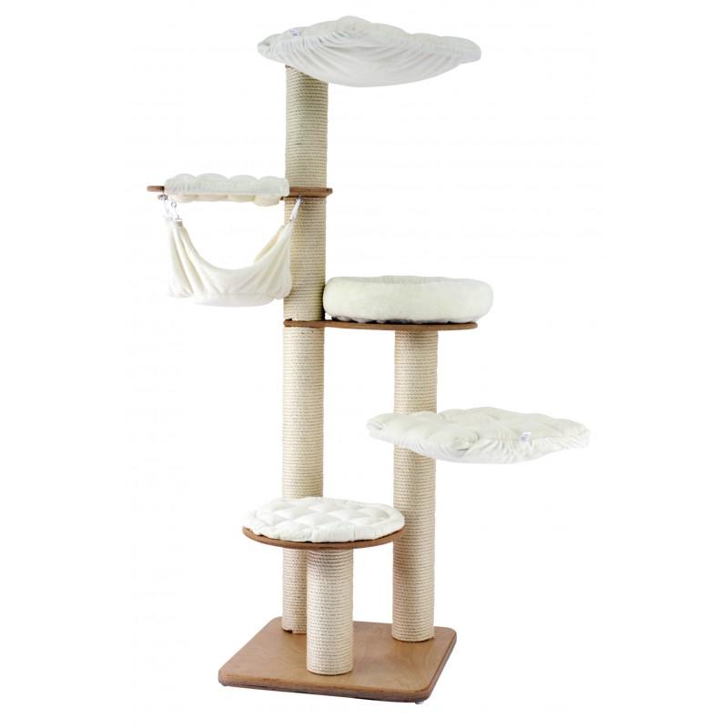 vollholz kratzbaum lyon 175cm. Black Bedroom Furniture Sets. Home Design Ideas