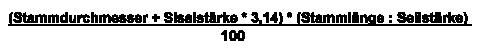 Sisal Formel