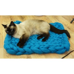 Kiviki Katzenbett aus Schafwolle