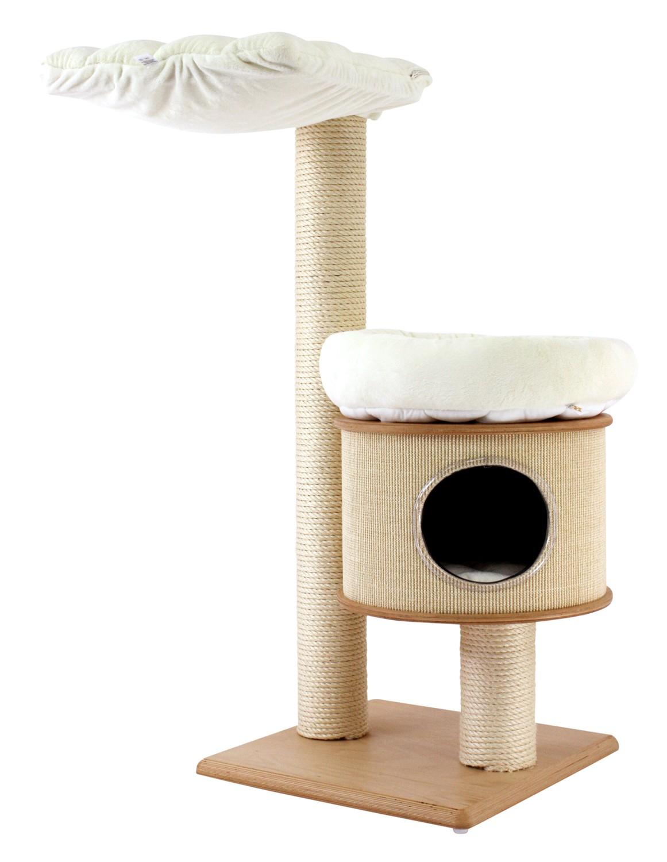 kratzbaum aus holz swalif. Black Bedroom Furniture Sets. Home Design Ideas